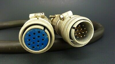 LOT OF 3 NEW IN PACK AMPHENOL MS3106A28-20S SIZE 28 14 POSITION CONNECTOR PLUG