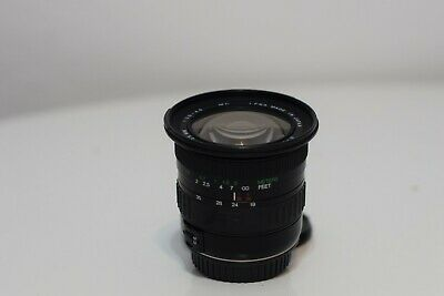 Cosina AF Zoom Camera Lens For Canon EOS 19-35mm F3.5-4.5 MC Wide Japan Made