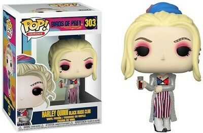Birds Of Prey - Harley Quinn (Black Mask Club) - Funko Pop! He (2019, Toy NUEVO)