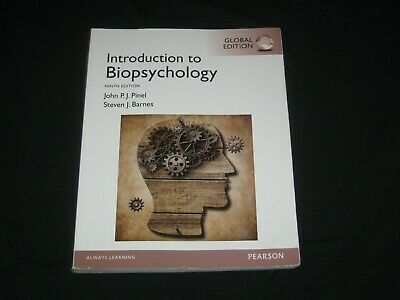 Introduction to Biopsychology Ninth Edition - 9781292058917