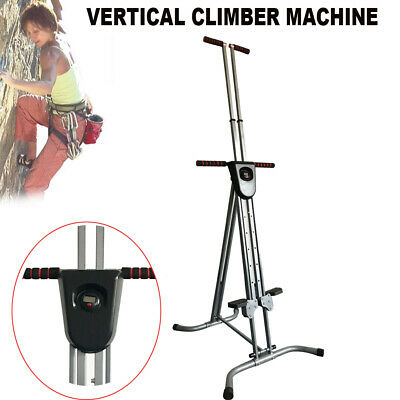 Vertical Climber Exercise Stepper Cardio Workout Fitness Training Device【US】A+