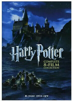 Harry Potter Complete 8-Film Collection DVD, 2011, 8-Disc Set, *Box Set* New