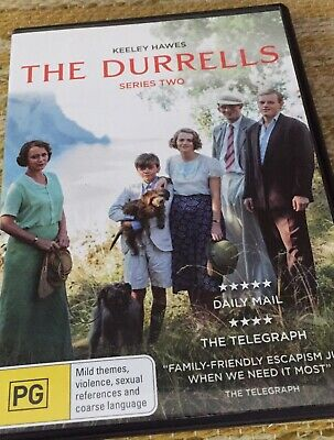 BBC - The Durrells - S2 - KEELEY HAWES (2-Disc Set) - PAL R4 - *FREE STD POST*