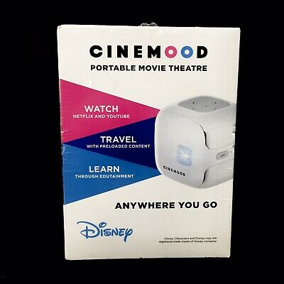 CINEMOOD Portable Movie Theater Storyteller Educational Disney Content Streams