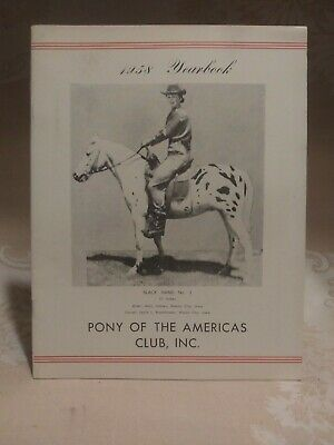 Pony of The America's Club Year Book 1958 Yearbook