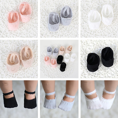 Invisible Non-Slip Ankle Sock Kid girl Infant Baby Cotton Low Cut Lace Sock^led5