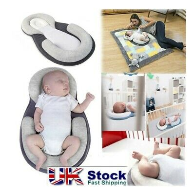Cot Pillow Newborn Infant Anti Flat Head Cushion for Crib Bed Neck-Support^led5