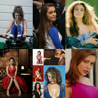 Alyssa Milano - Pack of 5 Glossy Photo Prints - 20 pictures to choose from