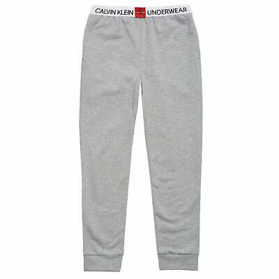 Calvin Klein Unisex Minigram Sweatpants - Grey Heather