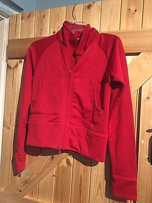 """Boys Red Firetrap Jacket Size Boys M Chest 28"""" To Fit Approx 5-8 Years"""