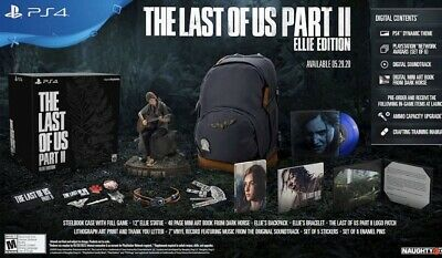 The Last Of Us Part 2 Ellie Edition LIMITED SOLD OUT LAST ONE!