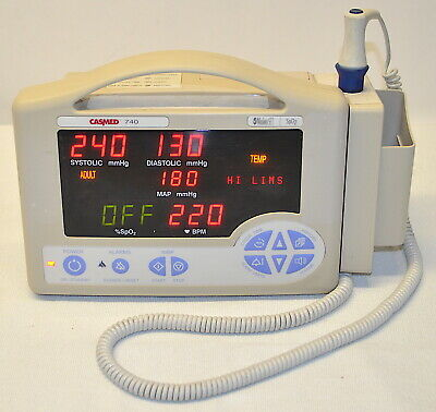 CASMED 740 Vital Signs Monitor *Used, Working* 740-3MS