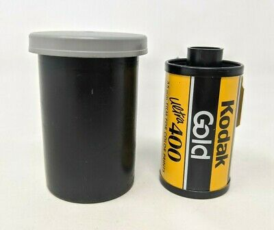 VTG Kodak Gold Ultra 400 35mm Film Color Prints 24 Exposure Expired & Case SS19