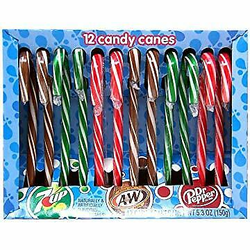 Candy Cane Flavored Ice Breakers Gum Christmas Holiday Gum Limited Edition 2 Pk