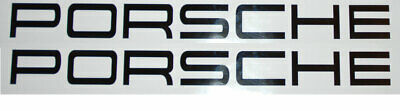 Decal for Porsche Cayman, Cayenne, Boxster, 911 door bumper Windowgraphic vinyl