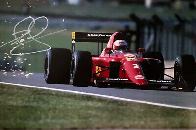 Formula One Nigel Mansell Original Hand Signed Photo 30x20cm With COA.