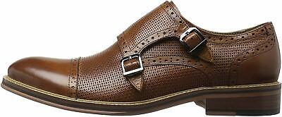 ZANZARA  Amedeo Cap Toe Casual Slip-On Loafer Oxford Shoes for, Brown, Size 9.5