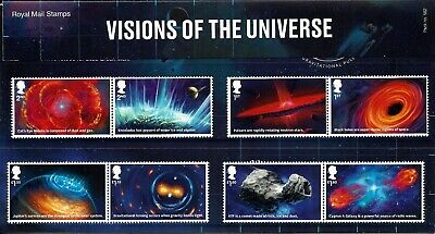 Gb 2020 Mint Visions Of The Universe Presentation Pack 582 Stamps Psb Singles