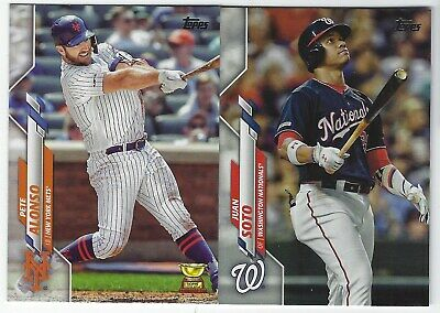 2020 Topps Series 1 Baseball Base 2nd Part #201-350 Complete Your Set - You Pick