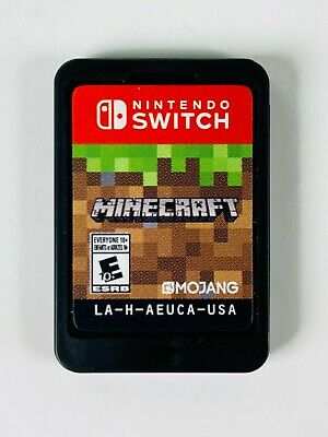 Minecraft (Nintendo Switch, 2018) - Cartridge Only - Fast Shipping