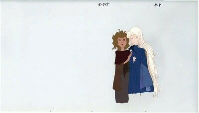 Anime / Animation Cel Last Unicorn #180