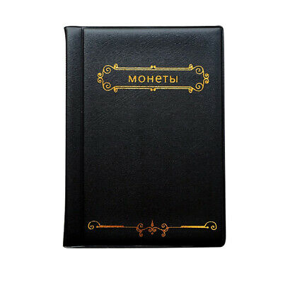 120 Collectors Coin Penny Money Storage Album Book Holder Case Collection