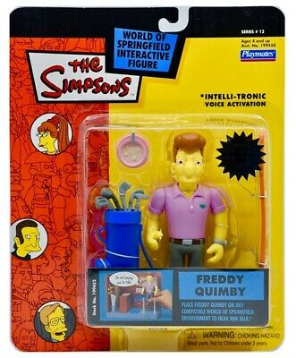 The Simpsons Series 13 Freddy Quimby Action Figure