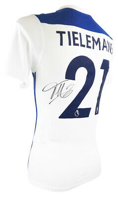 Signed Youri Tielemans Shirt - Leicester City Jersey +COA
