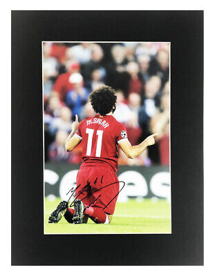 Details zu Mohamed Salah signed Adidas X Shoe Cleat Liverpool Egypt Premier League PROOF