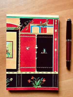 "250 pages ""Pompei"" Tomoe River Notebook - Japanese Fountain Pen Friendly Paper"