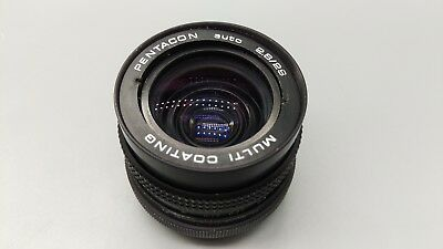 + PENTACON AUTO F=29mm 1:2.8 Camera Lens M42 Screw Fit Mount!Made in JAPAN!READ!