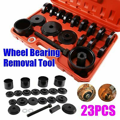 NEW Universal 23pc Wheel Bearing Removal Installation Tool Kit Front Wheel Drive