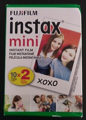 FujiFilm Instax Mini Instant Film 20 Photos Exp:04/2021 FREE SHIPPING!
