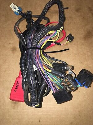 John Deere LX255 LX266 Lawn Tractor Complete Wiring Harness Part Number AM123240