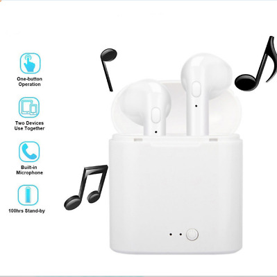 Wireless Bluetooth White Earbuds/Air dots/ Ear Pods in Ear With Charging Box