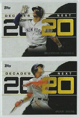 2020 Topps Series 1 Baseball DECADE'S NEXT Insert Complete Your Set - You Pick!
