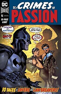 DC Crimes of Passion (2020) DC - #1, 80 PGs, Tynion/Orlando/Grace/More!, NM