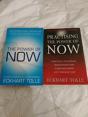 The Power of Now & Practising the power of now by Eckhart Tolle (Paperback)