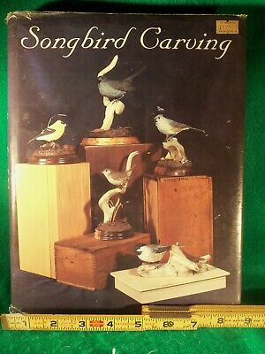 """* Bird Carving Book """" SONGBIRD CARVING """" by Rosalyn Leach Daisey Illustrated"""