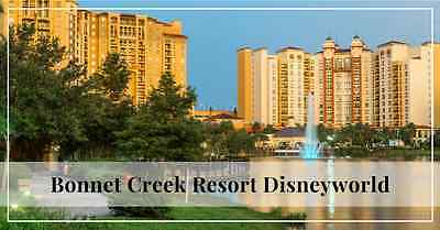 WYNDHAM BONNET CREEK Resort 2 Bedroom  JULY 18th, 2020 (7 Nights)
