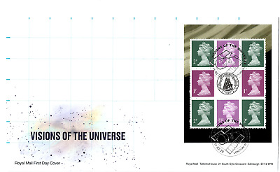 2020 Visions Of Universe Machin Gb First Day Cover Fdc London W1 *Nice* 11.2.20