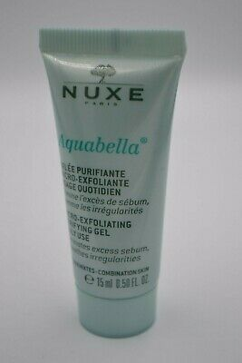 NUXE Aquabella Micro-exfoliating purifying gel daily use travel size 15ml