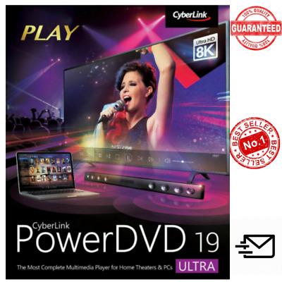 Cyberlink PowerDVD Ultra 19✅Full Version✅Lifetime✅Fast Delivery
