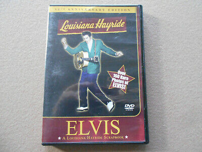 Elvis Presley: 50th Anniversary Edition Elvis Louisiana Hayride Scrapbook DVD