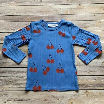 Mini Rodini Cherry LS T-Shirt, 104-110 Cm