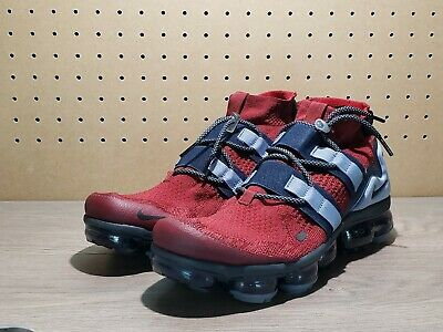 New Nike Air VaporMax FK Utility Men's Sz 11 Shoes Team Red Obsidian  AH6834-600