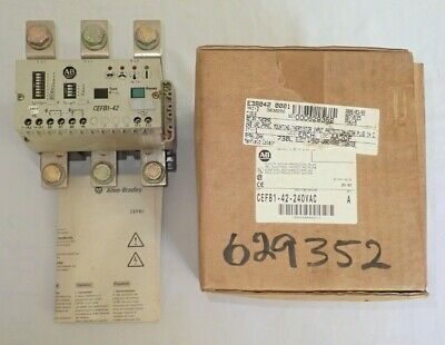 Allen-Bradley Cefb1-42 240Vac Electronic Motor Protection Relay New