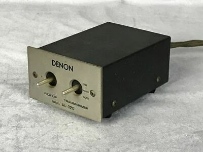Denon Au-320 Step Up Transformer for Moving Coil Cartridges FROM JAPAN F//S