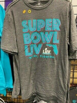 Super Bowl LIV Official Licensed T Shirt New Florida 54 Kansas City Chiefs 49ers