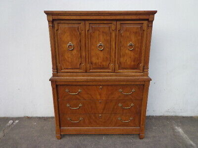 Antique Wood Dresser Chest of Drawers Vintage Century Bedroom Furniture Wood